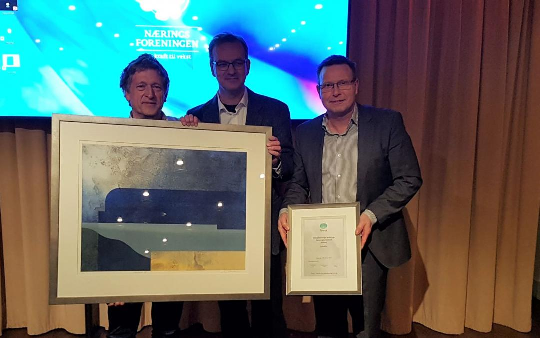 Sekal selected for the Tekna Technology Award 2018