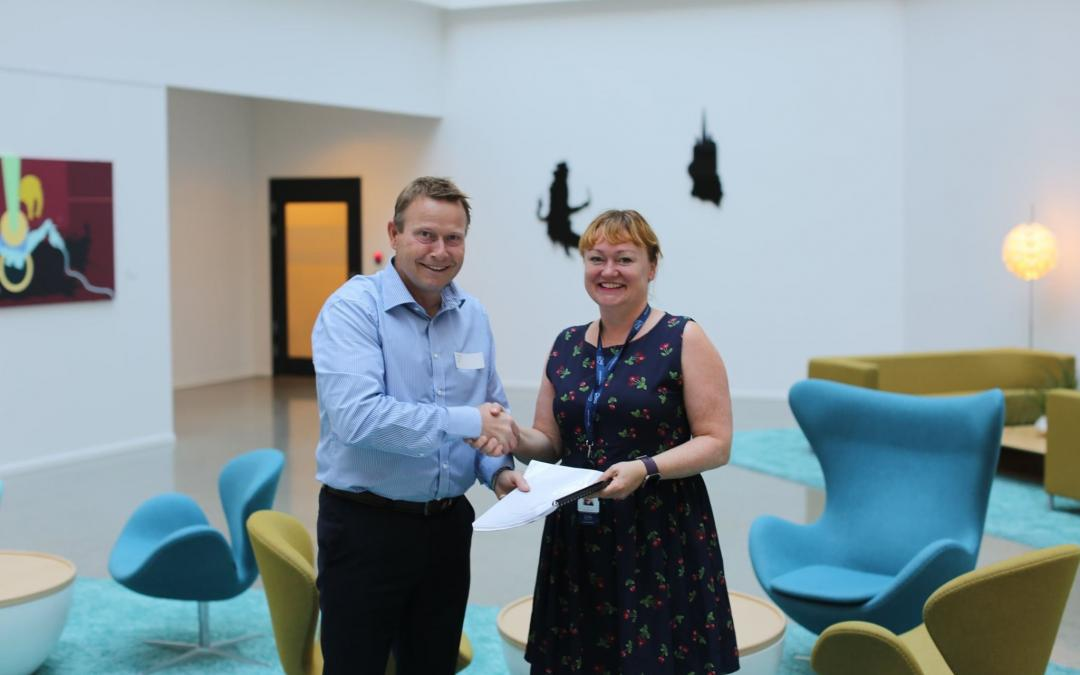 Global frame agreement signed with Wintershall Dea